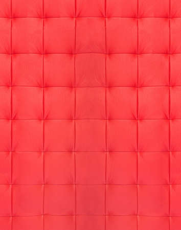 xxxl texture of red quilted leather Stock Photo - 16688993