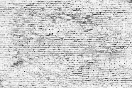 Texture of white brick wall