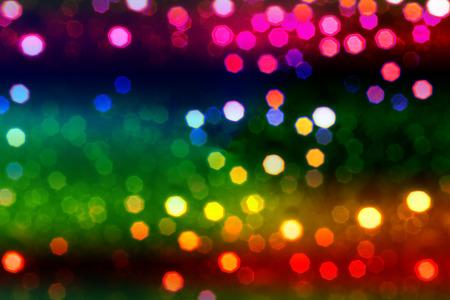kleurrijke abstracte defocused lichten