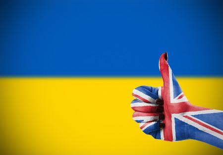 Steun van Unired Koninkrijk voor Oekraïne