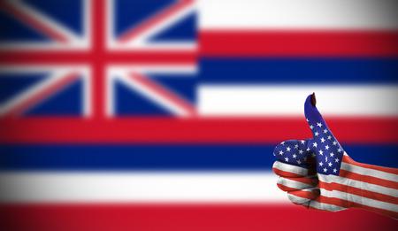concept foto - Ondersteuning van de VS voor Hawaii