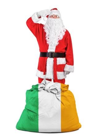 concept foto - cadeaus voor Ierland Stockfoto