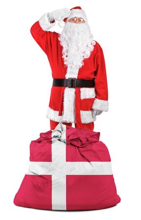 concept foto - cadeaus voor Denemarken Stockfoto