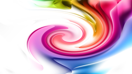 Colorful Whirlpool Background Image Stock Photo