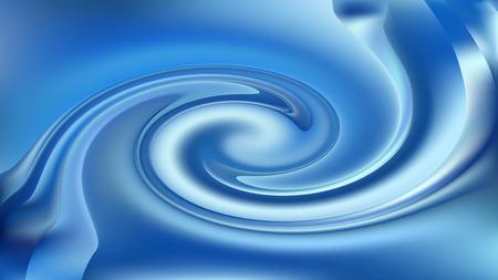 Fond de vortex bleu virevoltant Banque d'images
