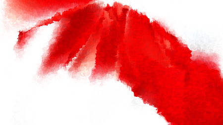 Red and White Distressed Watercolour Background