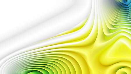Yellow and White Curved Lines Ripple Background Reklamní fotografie