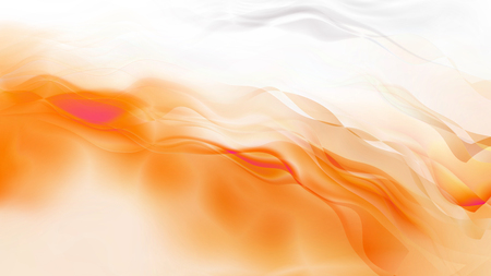 Abstract Orange and White Smokey Background Banque d'images