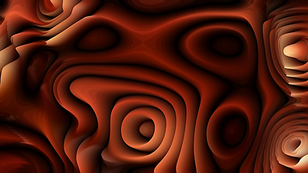 Abstract 3d Cool Brown Curved Lines Background