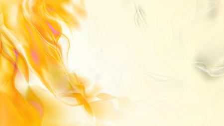 Abstract Orange and White Smoke Background Stock Photo