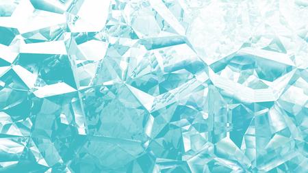 Turquoise and White Crystal Background Image Zdjęcie Seryjne