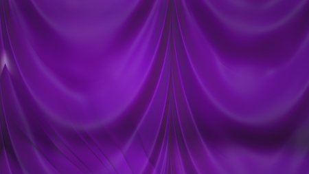 Abstract Dark Purple Silk Drapes Background