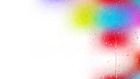 Colorful Water Drop Background Image Stockfoto