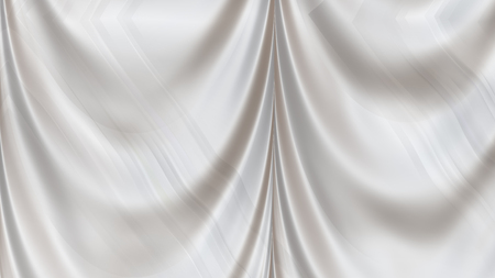 Abstract White Silk Curtain Background Texture