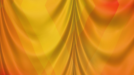 Abstract Orange Drapes Texture