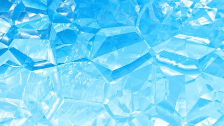 Blue Crystal Background Zdjęcie Seryjne