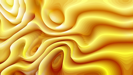 Abstract 3d Orange Curved Lines Background Banco de Imagens