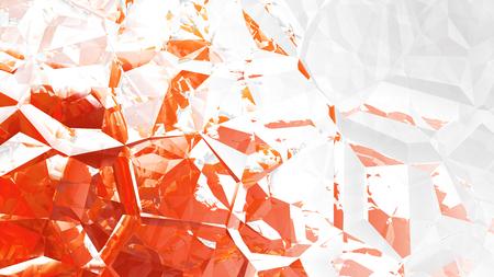 Red and White Crystal Background Zdjęcie Seryjne