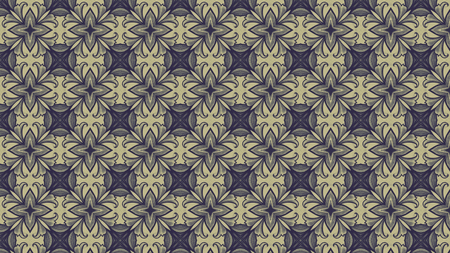 Vintage Wallpaper Pattern Background Design Template