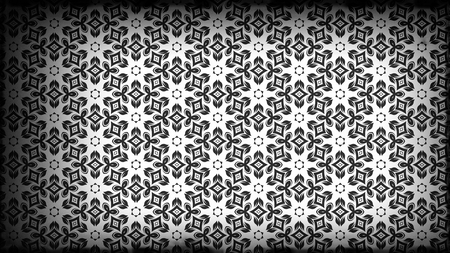 Geometric Ornament Pattern Background Design Template