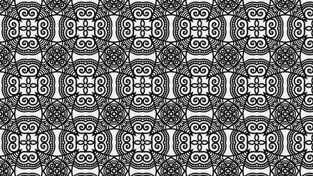 Ornament Pattern Background Design Stock Photo