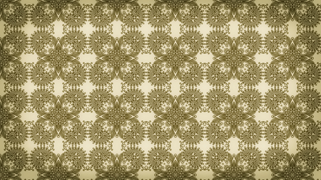 Brown Vintage Decorative Floral Pattern Background Image