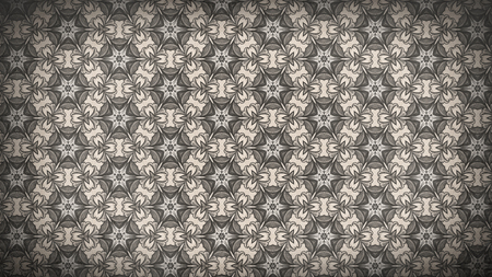 Brown Vintage Floral Pattern Texture Background Template