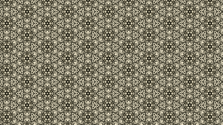 Brown Vintage Ornament Background Pattern Image Stockfoto