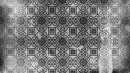 Vintage Flower Pattern Wallpaper Stok Fotoğraf