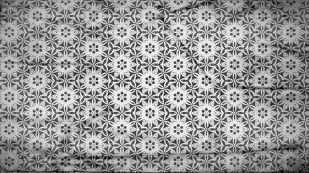 Dark Gray Geometric Ornament Wallpaper Pattern Design Template