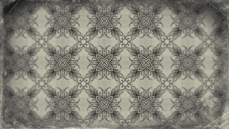 Light Brown Floral Vintage Pattern Background Image