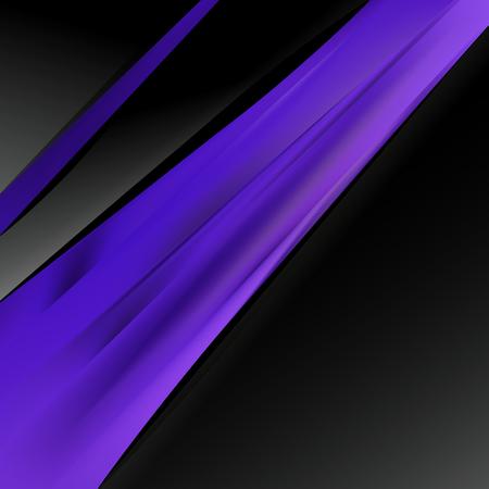 Abstract Cool Purple Business Brochure Illustrator
