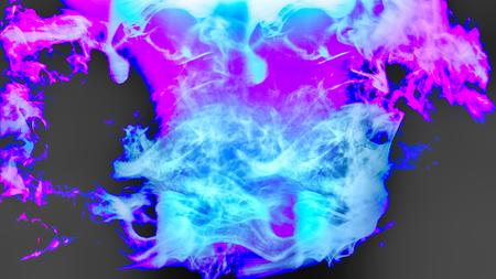 黒青と紫のテクスチャの背景 写真素材