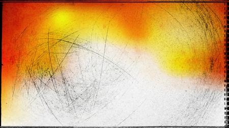Orange and White Grunge Texture Background Image