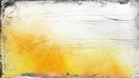 Orange and White Grunge Background Banco de Imagens