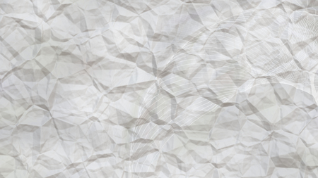Light Grey Wrinkled Paper Background Stock Photo