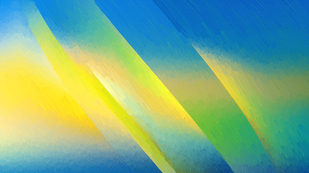Abstract Blue and Yellow Texture Background Design