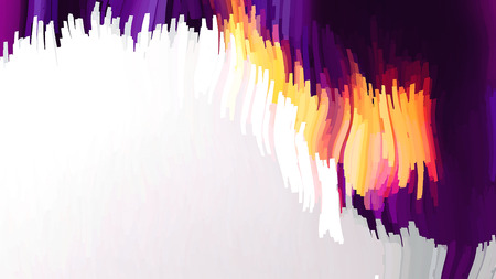 Abstract Purple and Orange Background