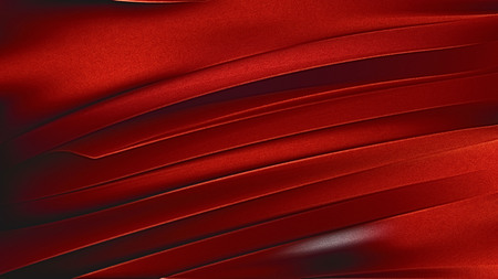 Abstract Shiny Cool Red Metallic Background Imagens