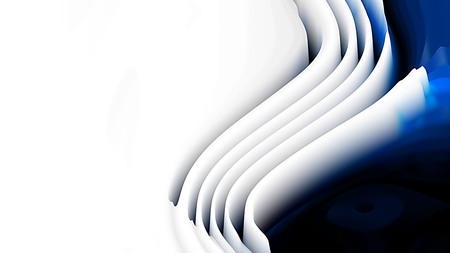 Blue Black and White 3d Curved Lines Texture Imagens