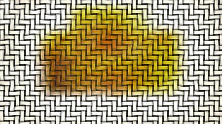 Orange and White Weave Background 版權商用圖片