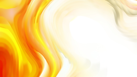 Orange and White 3d Abstract Curved Lines Background 免版税图像 - 121878049