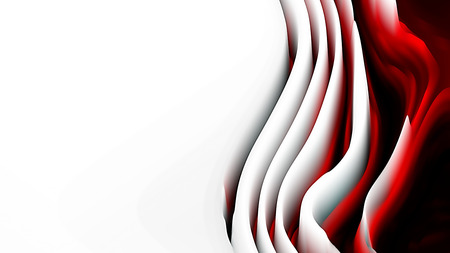 Abstract Red Black and White Curved Background Texture 免版税图像