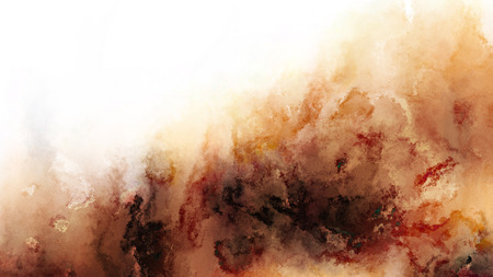 Brown and White Watercolor Texture Background