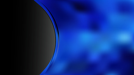 Abstract Black and Blue Wave Business Background Фото со стока