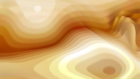 Light Orange 3d Curved Lines Texture