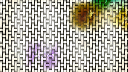 Light Color Wicker Texture Background