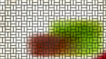 Colorful Woven Bamboo Background