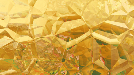 Orange Abstract Crystal Background Zdjęcie Seryjne