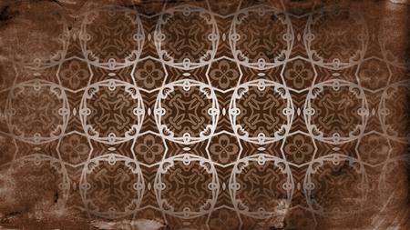 Vintage Floral Background Pattern Design 版權商用圖片